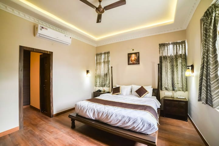 Serene Bedroom in Villa | Vaishali Nagar Jaipur