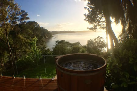 Spa & amazing view! [Twin Bedroom] Titirangi - Auckland