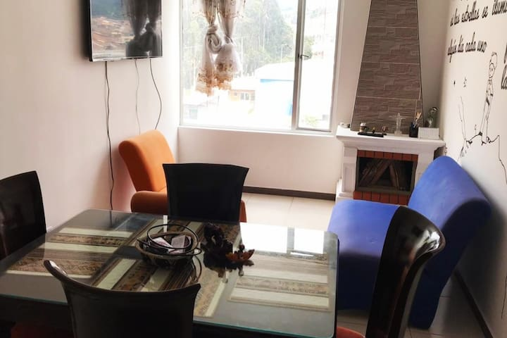 Habitación en apartamento equipado/Beautiful room