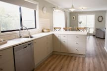 Kitchen with plenty of space and storage