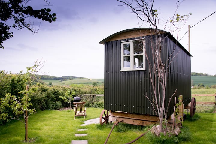 Shepherd's Hut - self catering/B&B - Salisbury - Pondok
