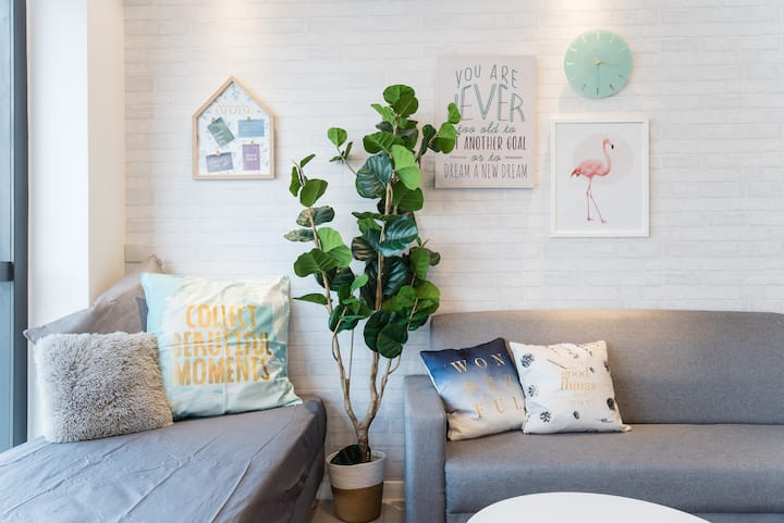 PROMO NEW Nordic Duplex Loft【8mins to Sunway】 6pax