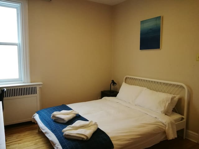 Quiet & cosy room, close to metro,A/C