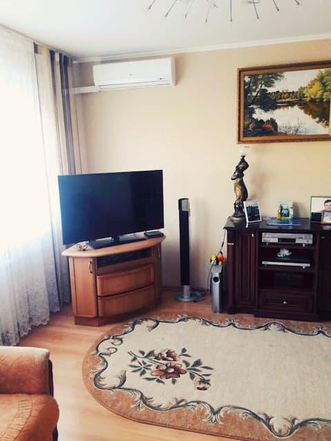 3-комнатная просторная квартира