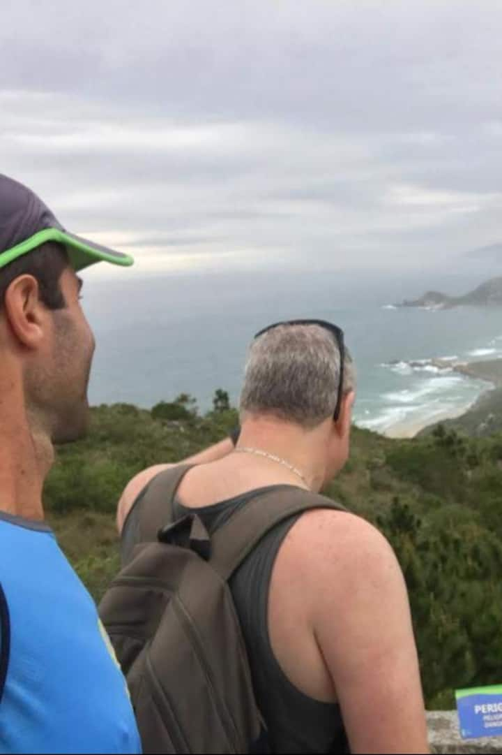 Rumo à Praia Mole e Galheta