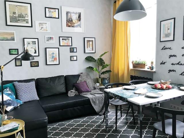 Cozy apartments near Kremlin