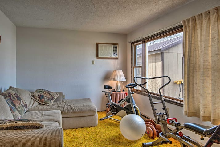 Up to 2 guests can share this cozy 1-bedroom, 1-bath apartment.