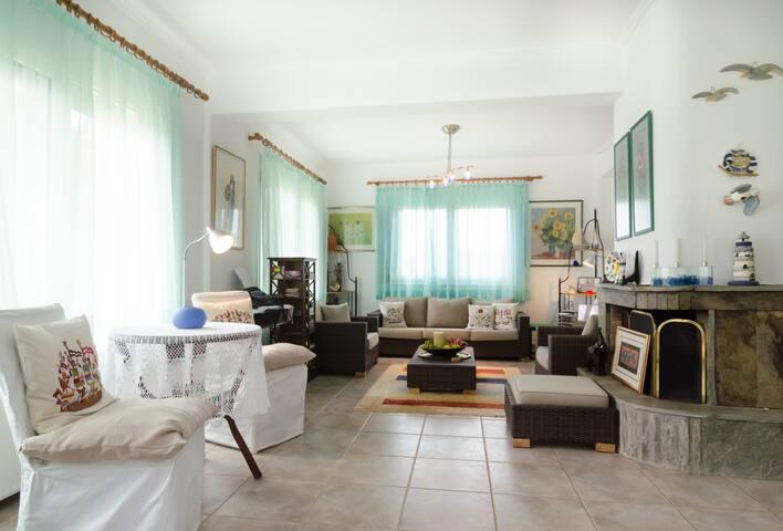 Villa Charma in Northern Greece