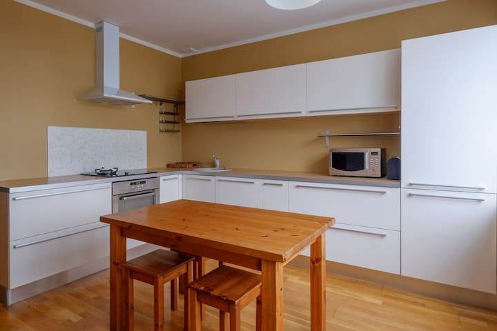 Spacious 1-bedroom apartment in quiet area - Riga - Daire