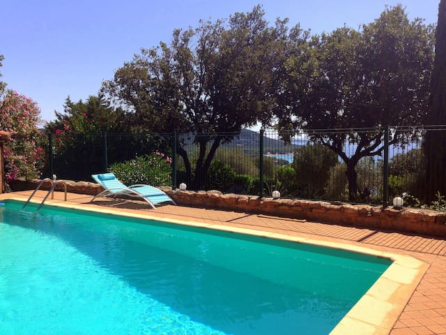 VILLA 107 Palombaggia sea view with swimming pool