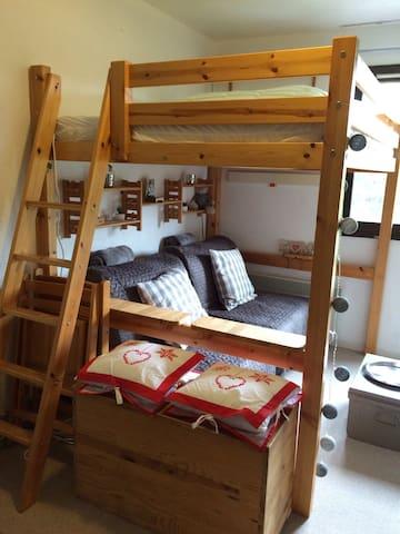 Studio 4 couchages, pied des pistes - Bolquere  - Pis