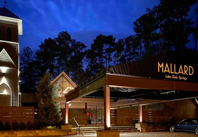 MALLARD Lake Dixie Springs Guest Cabin No. 3