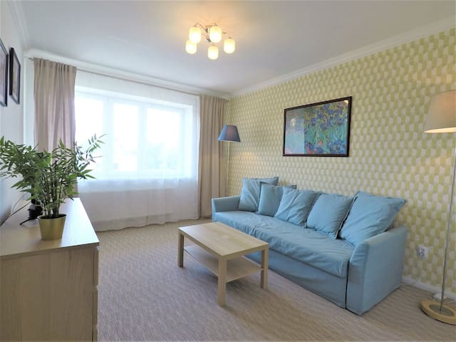 Comfortable Apartment in a quiet district- Parking