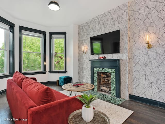 Vintage Chic Home with Hotel Caliber Amenities
