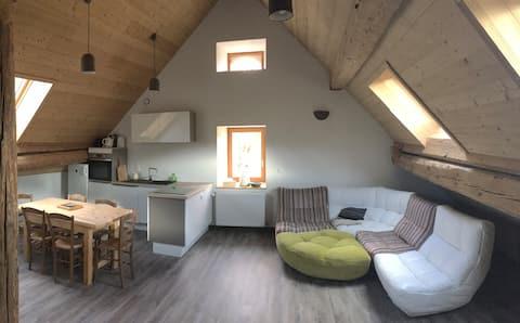 Beautiful flat in  Vercors Area- Grenoble Mountain