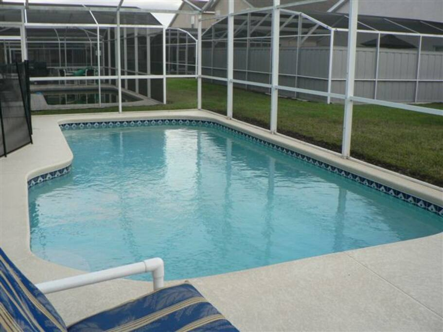 Extended swimming pool
