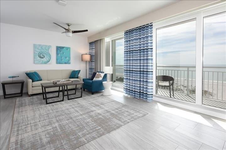 Brand New Luxury 100% Gulf Front 3B/3Ba Penthouse