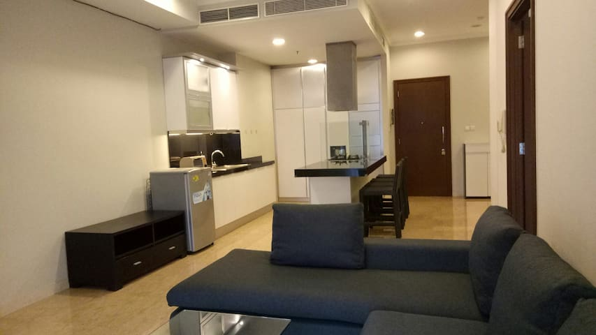 Modern Spacious Apartment near GBK,  Malls n SCBD