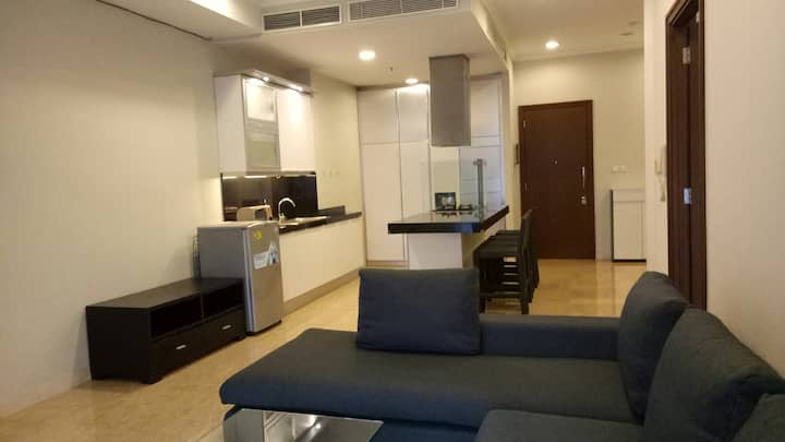 Modern Spacious Apartment near GBK,  Malls n SCBD