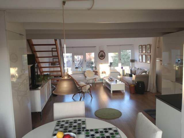 Duplex cosy proche Défense de 45m² - Nanterre - Appartement