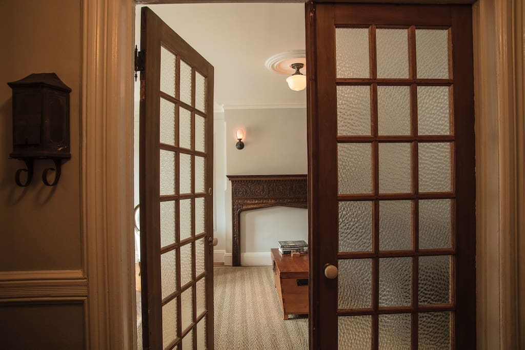 Private entrance into your exclusive rooms.