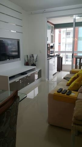 Luxuoso, vista, varanda, churrasco - Navegantes - Apartamento