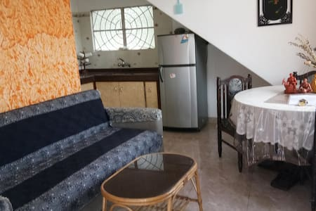 Spacious studio apartment at Baga