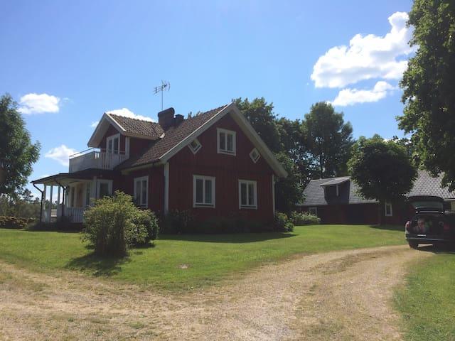Avkopplande, naturskön idyll. - Strömsnäsbruk  - 獨棟