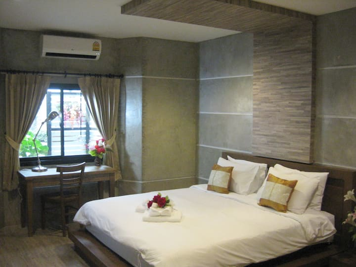 The Superior Double Room with garden view