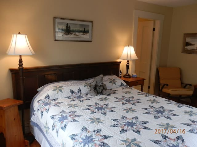 Peaceful Grand Pre Heritage Home-Blue Room - Grand Pré - Hus