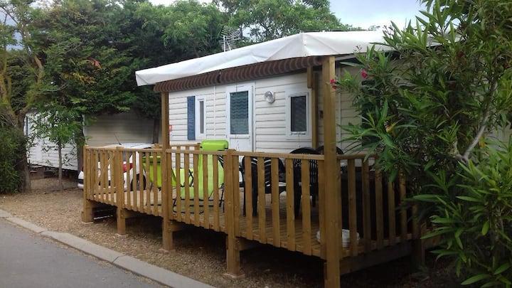 Bungalow Climatisé Tt confort  6 pers Camping 4*