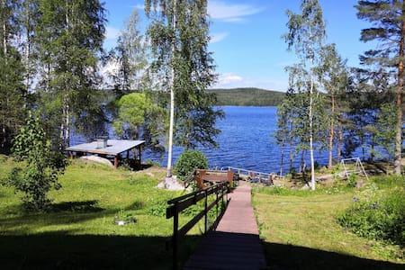 Päijänne Lakeside Cabin on a Large, Scenic Estate