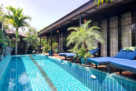 A Beach Luxury Private villa with Swimming pool