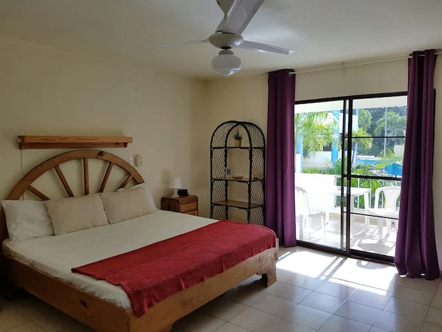 Deluxe Studio in Sosua Hotel -Walk to Beach