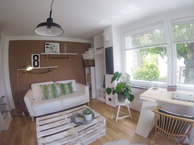 modern flat with garden close to Heidelberg - Dossenheim - Appartement