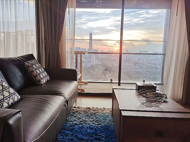 29th floor amazing City view one bed room