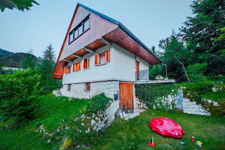 Dedkova hiša / Grandpa's house