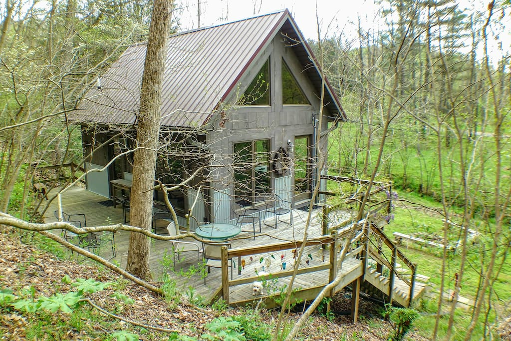 Eagle ridge cabin hocking hills ohio cabins for rent for Eagles ridge log cabin