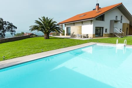 Impressive luxury villa with amazing views. - Donostia - 別荘