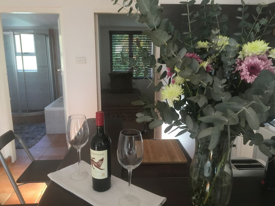 Our self catering apartments are air-conditioned, have fully equipped kitchens, a bath and shower - and we offer full DSTV and free Wifi