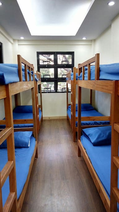 dorm type bed.