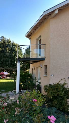 Cosy room with view (private bathroom) - Collonges-sous-Salève - Casa