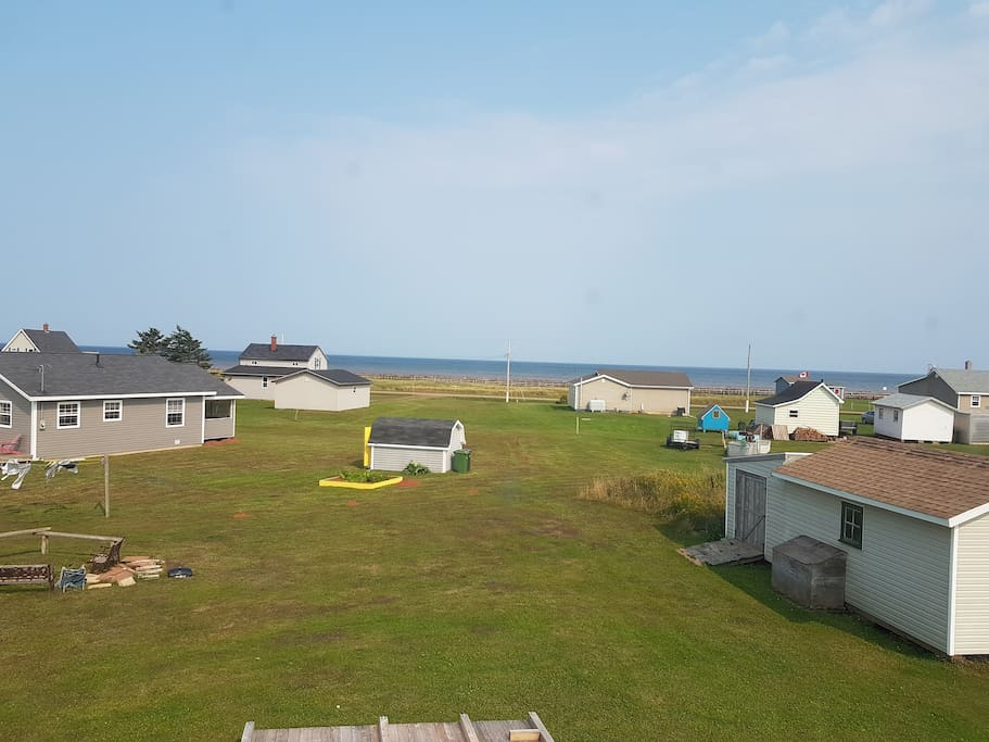 View of Tignish shore and the water.