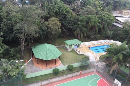5 kilometers from Olympic Headquarters at Barra da Tijuca.