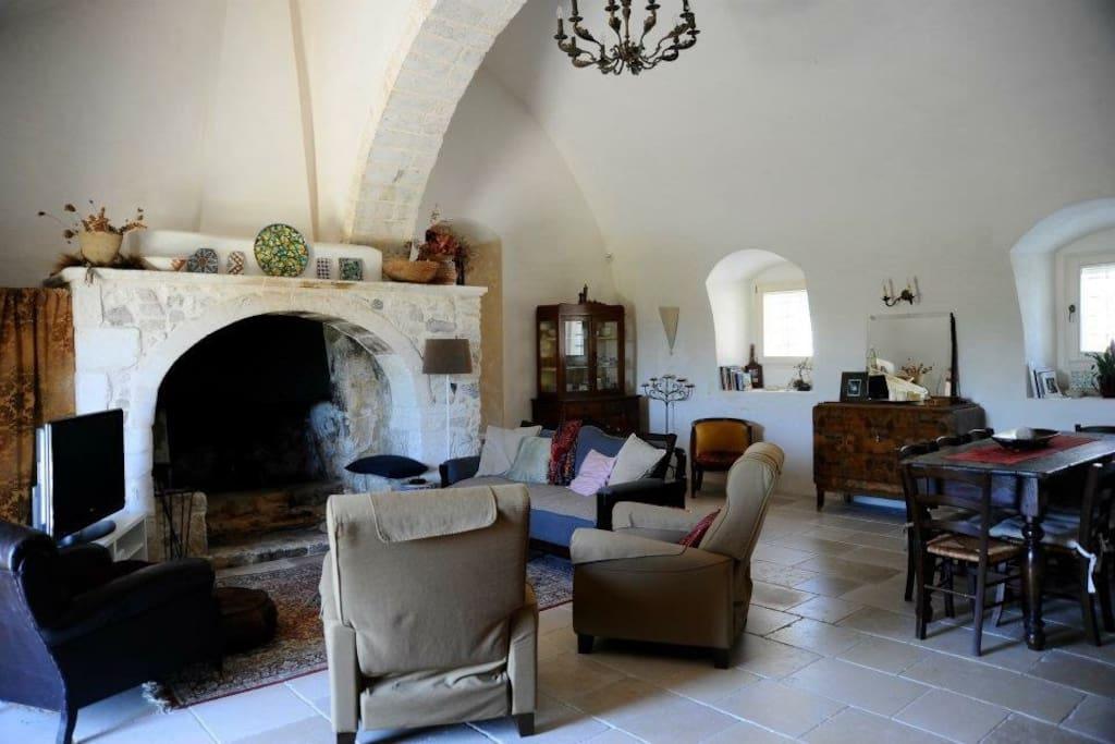 Living Room 50 square meters