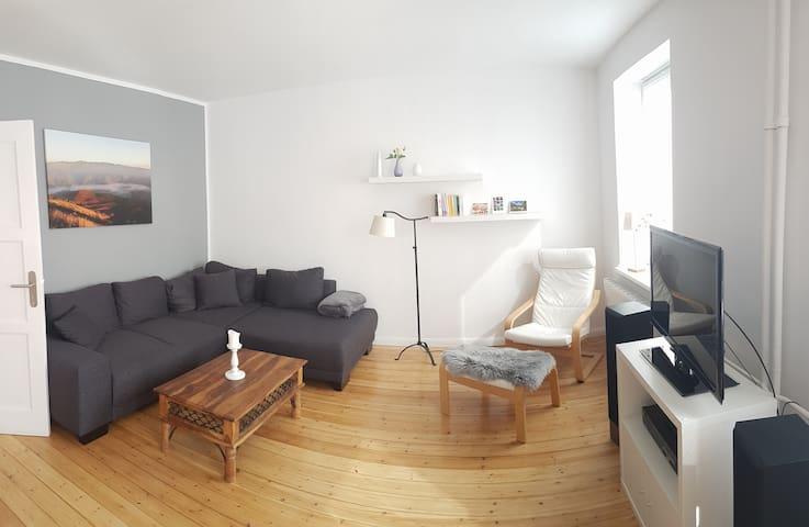 Helle Wohnung im Zentrum Kiels