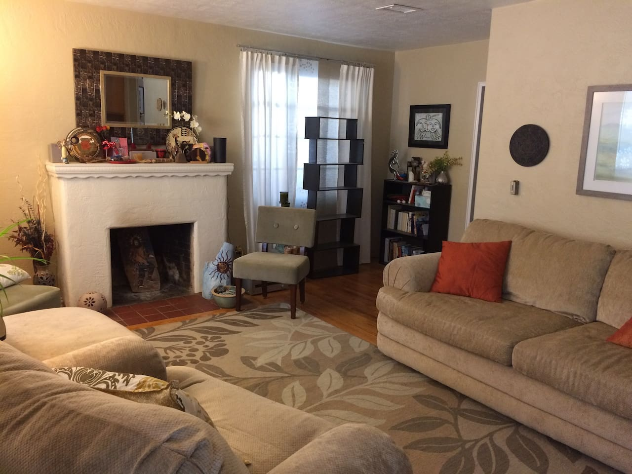 The main living room area.