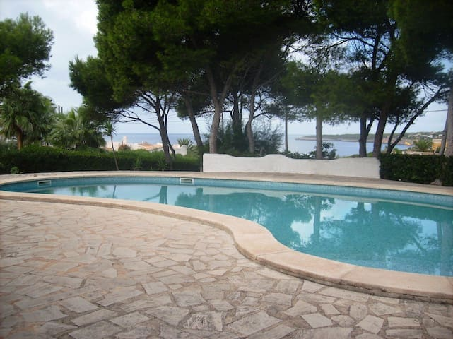 Very Big Villa with pool and seaview - Cala Pi - House