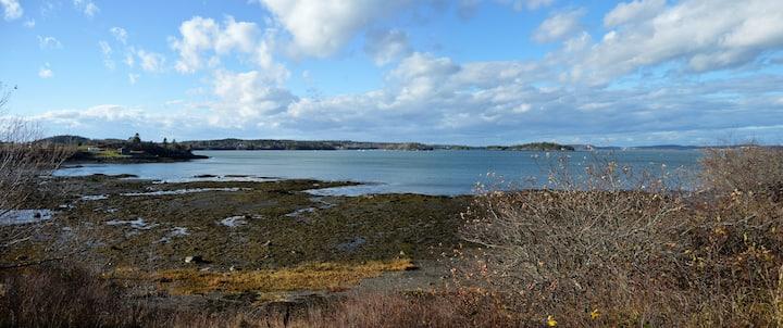 Mudge's Bluff- Edge of Town Waterfront Lubec Maine