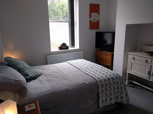Beulah House - Room 3- Double with en-suite